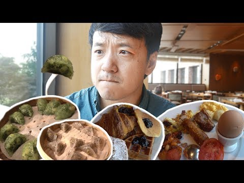 5 STAR Korean All You Can Eat BREAKFAST BUFFET in Seoul!
