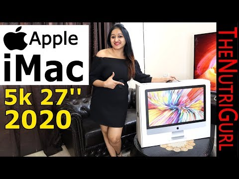 Apple IMac 27'' 5K (2020) - Unboxing & Overiew In HINDI