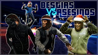 BESTIAS VS ASESINOS EN GTA V