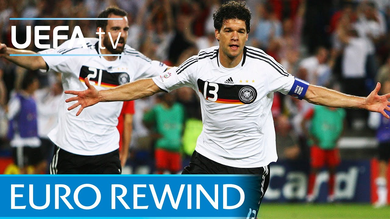 EURO 2008 highlights: Portugal 2-3 Germany - YouTube