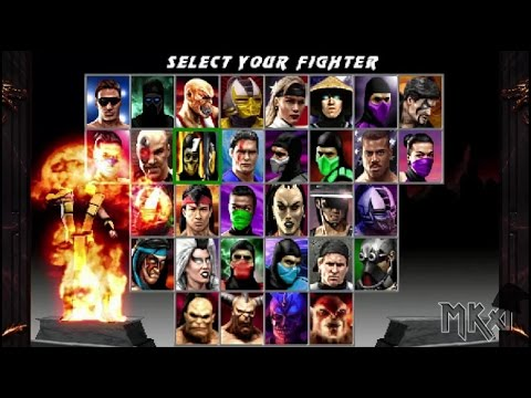 Mortal Kombat Quadrilogy BETA by Halil Scorpion with download link