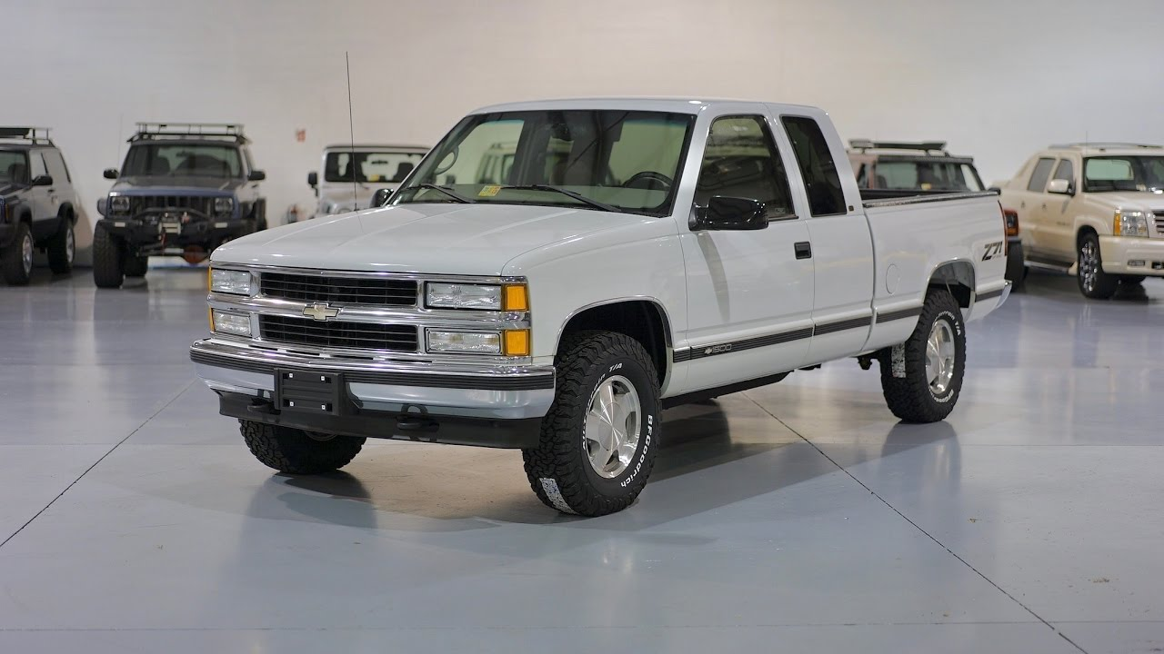 Davis Autosports 1998 Silverado 1500 Ext Cab Z71 For Sale