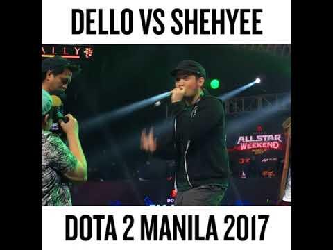 RB: Dello vs Shehyee @Dota 2 All Star Weekend Manila 2017