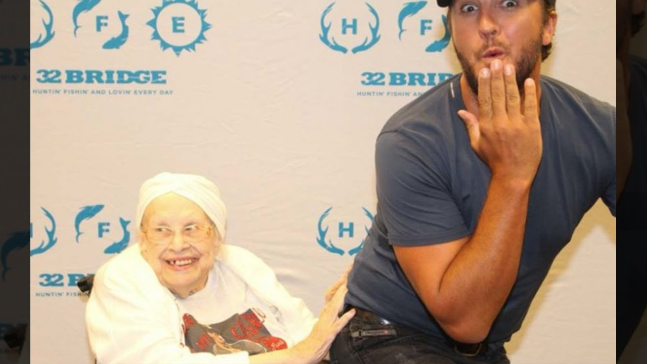 Terminally ill grandma gets frisky with luke bryan during meet and terminally ill grandma gets frisky with luke bryan during meet and greet m4hsunfo
