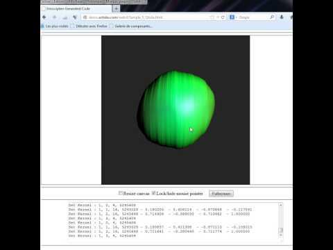 WebCL RayTraced quaternion julia