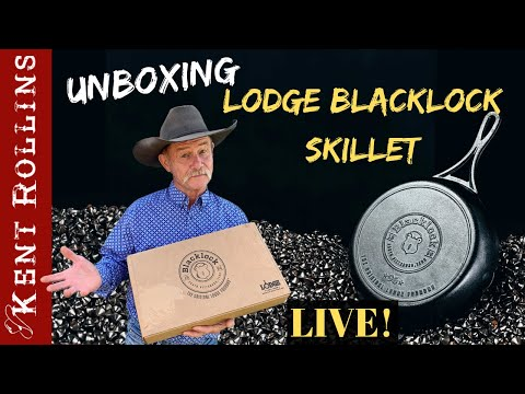 Unboxing the Lodge Blacklock Cast Iron Skillet