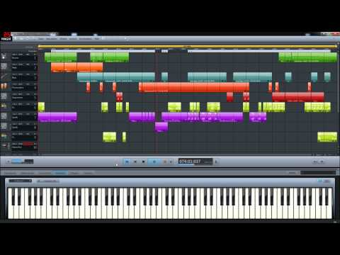 Magix Music Maker 2014 - My first Techno Trance