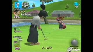 Hot Shots Golf Fore! PlayStation 2 Gameplay - Samurai slices