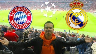 FC BAYERN - REAL MADRID | Champions League - STADIONVLOG