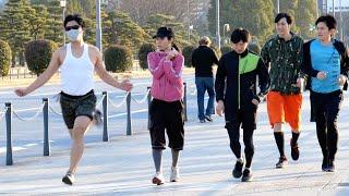 変なランナードッキリ/Funny Runner Prank In Japan