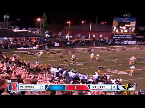 Colquitt #9 Quan Singletary 43 yard scoop and score