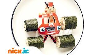 Suşi Eğlenceli w/ Blaze & AJ | Nickelodeon Veliler nasıl