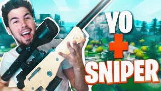 IMPARABLE con SNIPER en FORTNITE