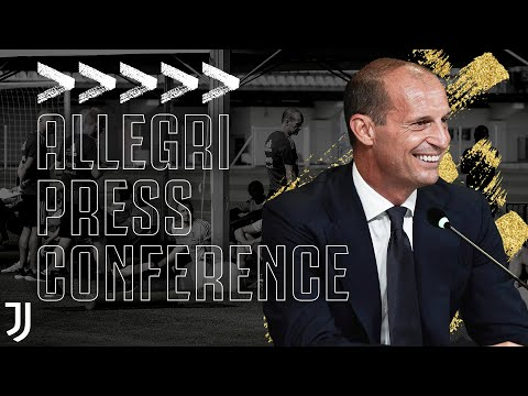 Allegri Previews New Season!   First Press Conference Back At Juventus   #AllegriIN