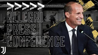 Allegri Previews New Season! | First Press Conference Back At Juventus | #AllegriIN