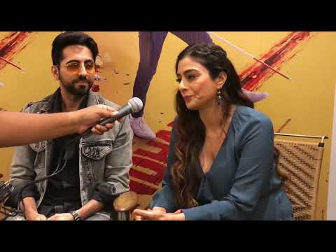 Ayushmann Khurrana & Tabu on their thriller directed by Sriram Raghavan - 'Andha Dhun' with Hrishi K