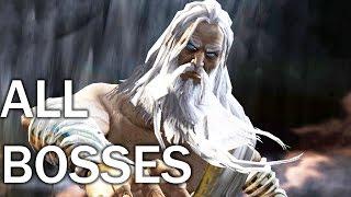 God of War 2: All Bosses (4K 60fps)