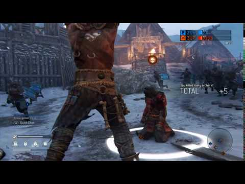 For Honor - Raider Skullcrusher Execution