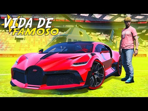 GTA 5: VIDA DE FAMOSO - GANHEI UMA BUGATTI DIVO EM DUBAI! - #83