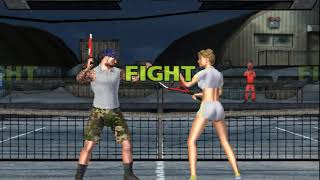 outlaw tennis fighting