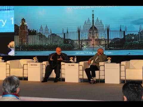 Hamid Karzai at Q&A Session 2nd Raisina Dialogue India