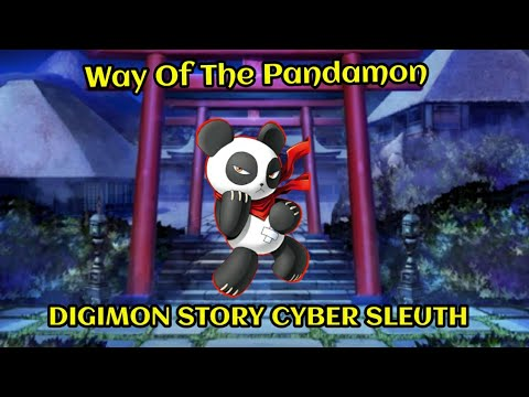 DIGIMON STORY CYBER SLEUTH:Hacker's Memory Pt 4- A Pandamon's Journey