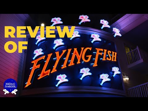 Flying Fish Review – Disney Dining Review Of The Premier Seafood Restaurant In Walt Disney World