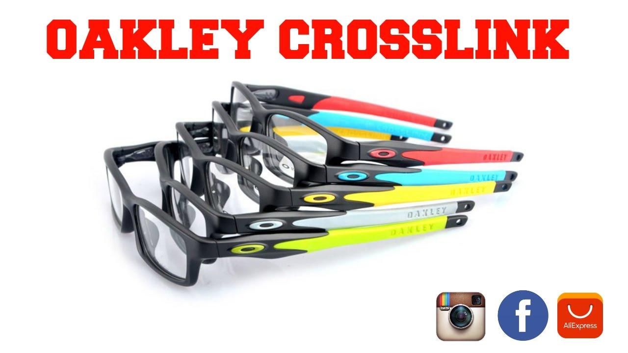 51f92f4245243 Óculos de grau Oakley Crosslink  Unboxing - YouTube