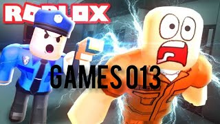 Escape from the Roblox prison #gamesandre013