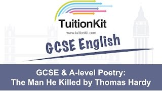 GCSE & A-level Poetry:Everything you need to know about The Man He Killed by Thomas Hardy