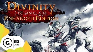 E3 2015 Ps4 Gameplay - Divinity: Original Sin Enhanced Edition