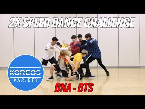 [Koreos Variety] S2 E2 - BTS (방탄소년단) DNA 2X Speed Challenge