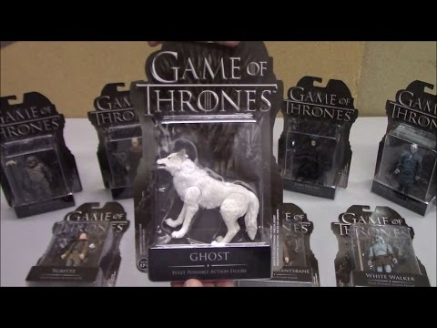 Funko Action Figures - GAME OF THRONES (Set Of 9) Show Toys Review - BBToyStore.com