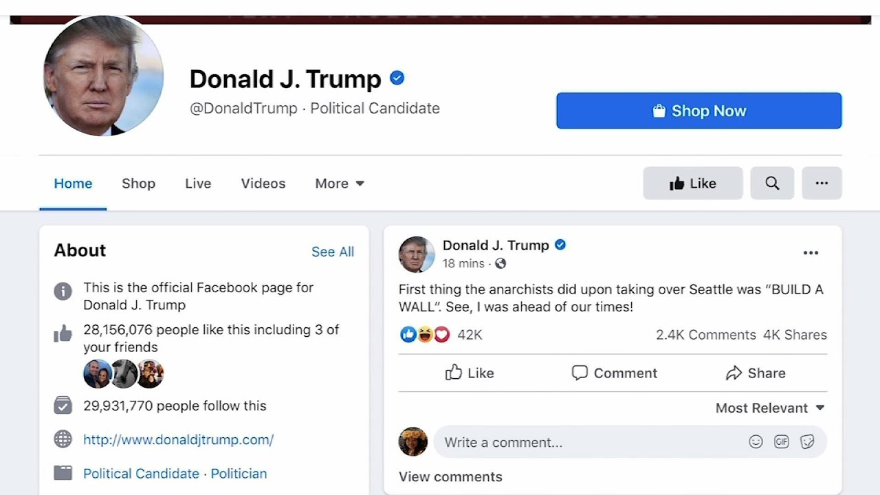 Twitter Removes Trump Campaign Video of President's Head on ...