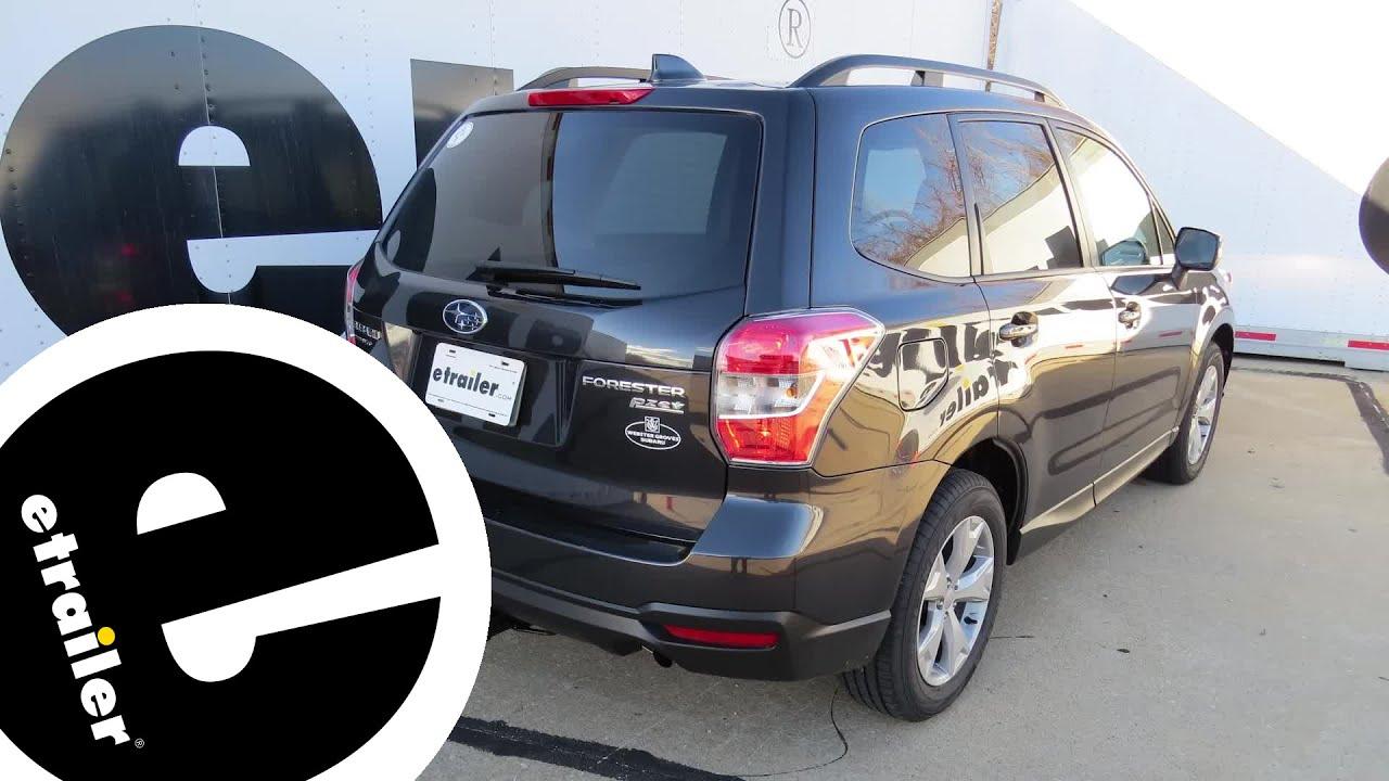 Best 2011 Subaru Forester Roof Rack Options Etrailer Com