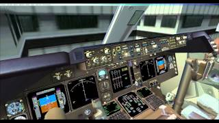 PMDG 747-400 Tutorial,Insufficient fuel &amp Imbalance in fuel tanks 2&amp3. FSX. How to m ...