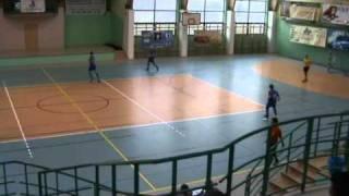 1 Liga FUTSALU 2010/2011 * AUTO COMPLEX Przodkowo - AZS UG Gdańsk 6:3 (1:1) 1 połowa cz.1