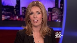 Kate Sullivan - cleavage in gray top & black jacket - June 6, 2012 (1080p)