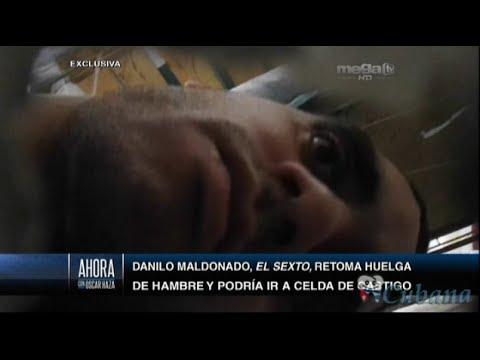 Oscar Haza - El Sexto retoma la huelga de hambre