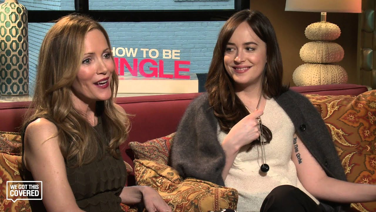 Exclusive interview dakota johnson and leslie mann talk how to be exclusive interview dakota johnson and leslie mann talk how to be single hd youtube ccuart Choice Image