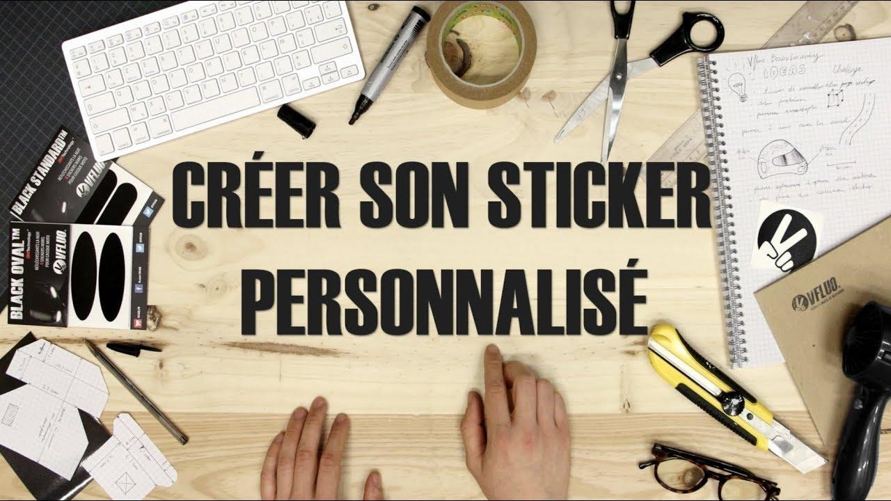 Tuto Créer Son Sticker Réfléchissant Pour Casque De Moto Youtube