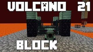 火山の中で生きるPart21【VolcanoBlock】