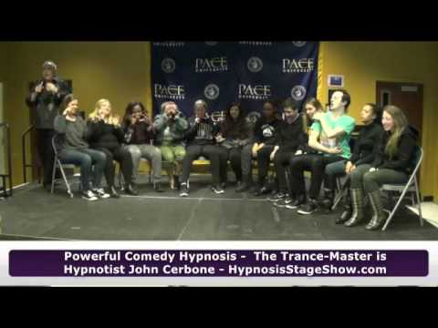 University Hypnosis Trance-Master Comedy Hypnosis Stage Show - 4-2016