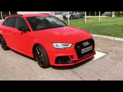 RS3 ROSSO CATALUNYA - YouTube