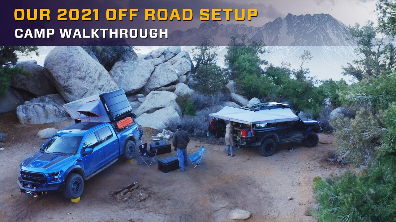 What's my OFF ROAD SET UP 2021 | Overland Bound Camp Walkthrough