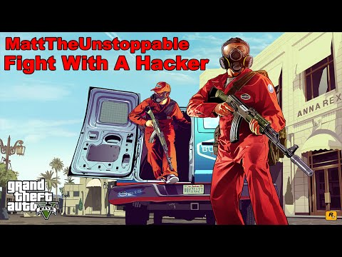 GTA V: Fight With a Hacker!