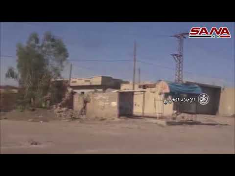 Syrian Army recovers the town of Khasham in the countryside of DeirEzzor