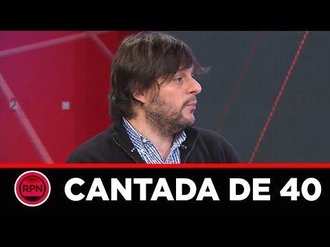 Leandro Santoro cantó las 40:
