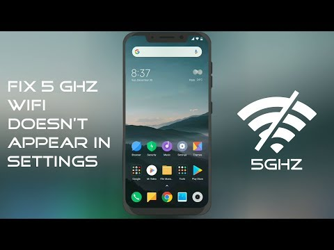 Fix 5 GHz WiFi Doesn't Appear In Settings [For MIUI]