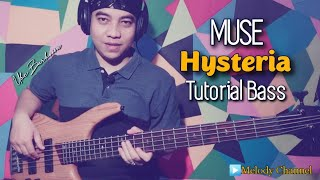 Muse - Hysteria (Tutorial Bass by Ube Barbossa)